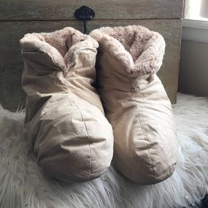 Restoration Hardware Duvet Feather Down Bootie